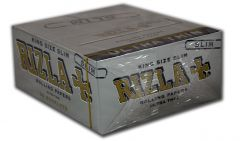 Rizla - King Size - Silver Papers (Box Of 50) (42)
