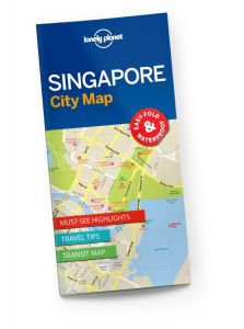 Lonely Planet - City Map - Singapore