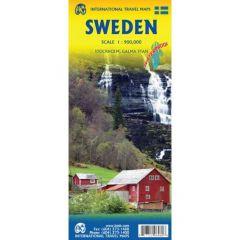 ITMB - World Maps - Sweden Railway And Road