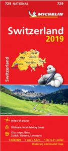 Michelin National Map - 729-Switzerland