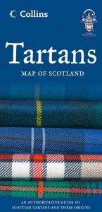 Collins - Tartans Map Of Scotland