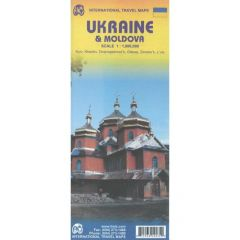 ITMB - World Maps - Ukraine & Moldova / Crimea