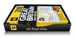 AA - Road Atlas - Counter Tray