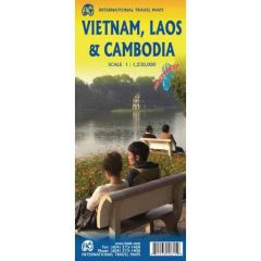 ITMB - World Maps - Vietnam Laos / Cambodia