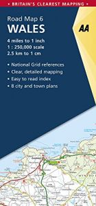 AA - Road Map Britain - Wales