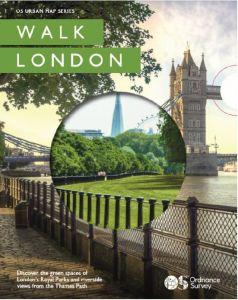 OS Urban Map Series - Walk London