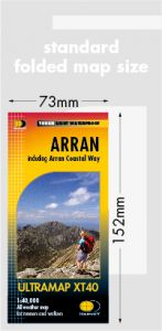 Harvey Ultra Map - Arran (Inc Arran Coastal Way) XT40