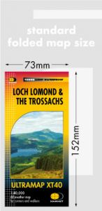 Harvey Ultra Map - Loch Lomond & The Trossachs - XT40