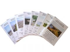 Challenge Publications - Set of Yorkshire Coastal Path Walk Leaflets