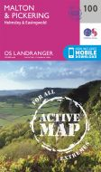 OS Landranger Active - 100 - Malton & Pickering, Helmsley & Easingwold